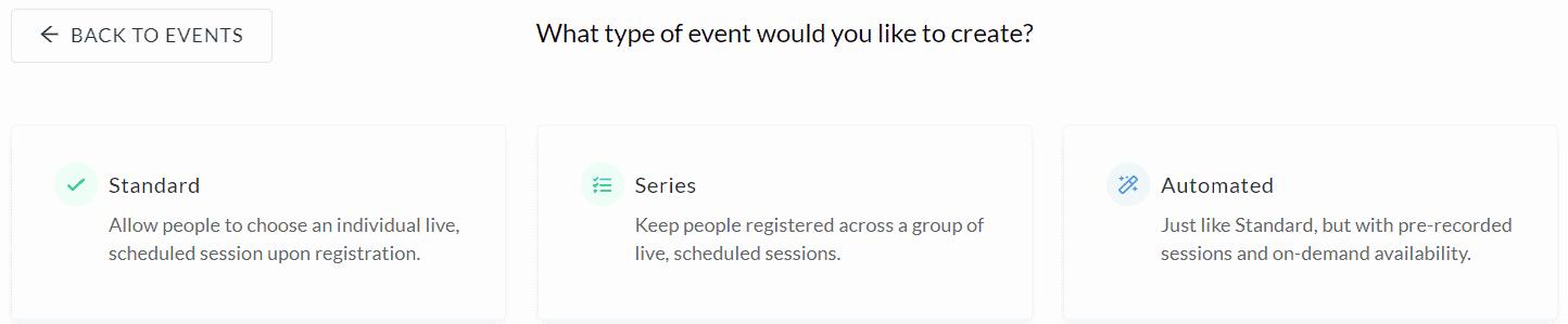 events type