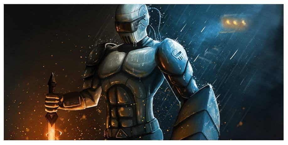 knight illustration