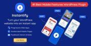 Instantify PWA + Google AMP + Facebook IA (3 in 1) plugin para WordPress